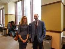 Sonya Crabtree- Nelson and Jonathan Lipshitz